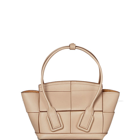 Arco Mini French Calf, Nude/Gold,