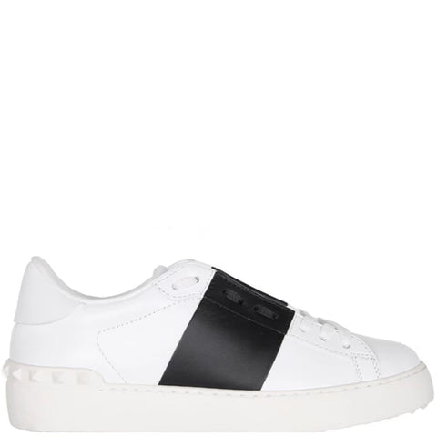 Open Sneaker, White/Black