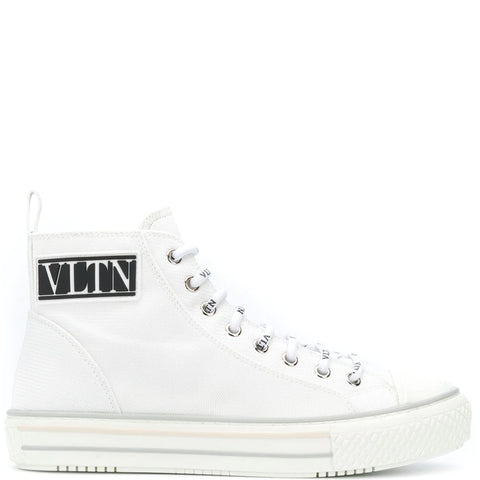 Giggie Hightop Canvas, White