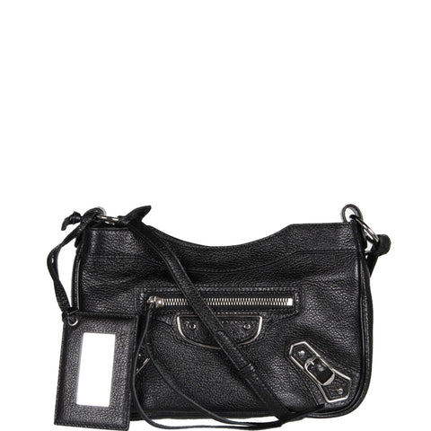 Hip Classic Grained ME, Black/Silver