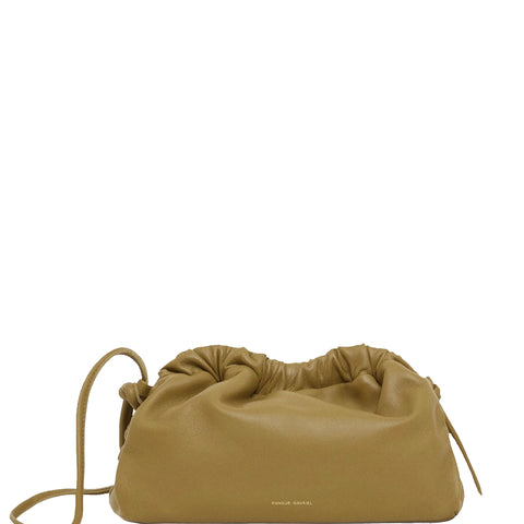 Cloud Clutch Mini Lambskin, Safari