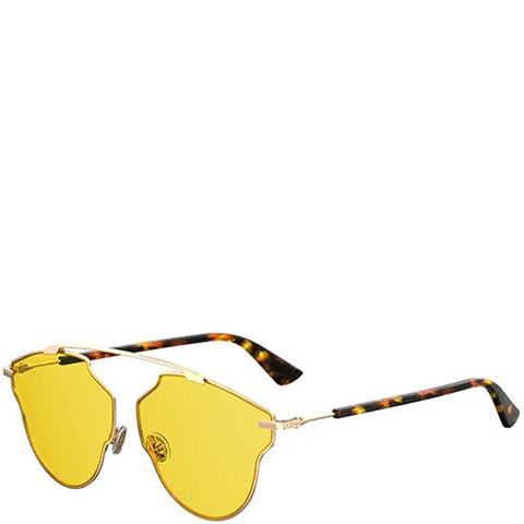 Dior So Real Pop Sunglasses, Yellow