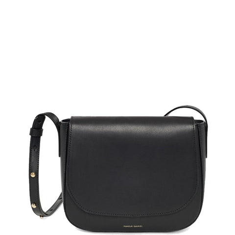 Classic Crossbody Vegetable Tanned, Black