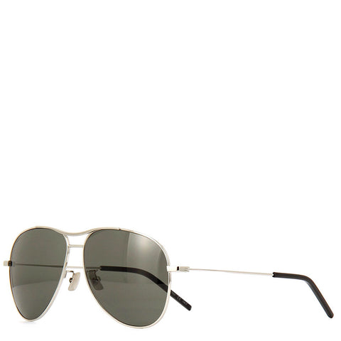 YSL SL11 Blondi Sunglasses, Gold/Grey
