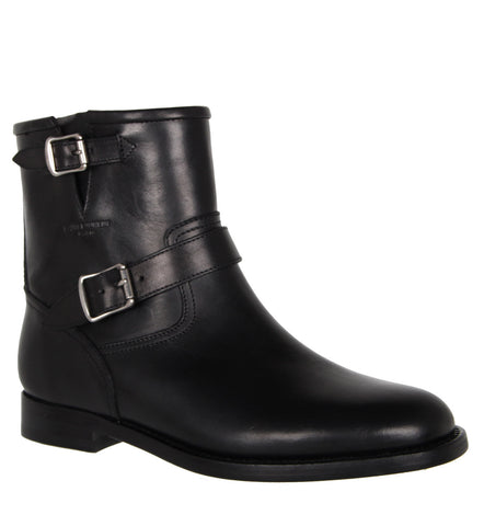 Motorcycle Boots, Black