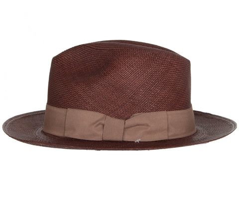 Classic Panama with Italian Bow, Brown
