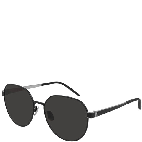 YSL SLM66 Signature Sunglasses, Black