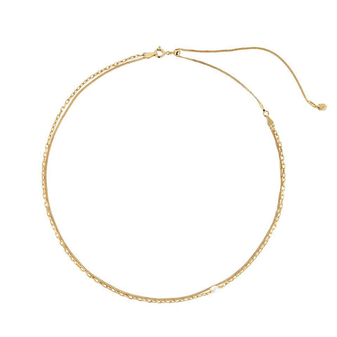 Cantare Necklace, Gold