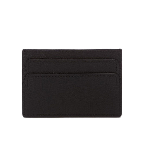Flat Card Holder, Black/Silver