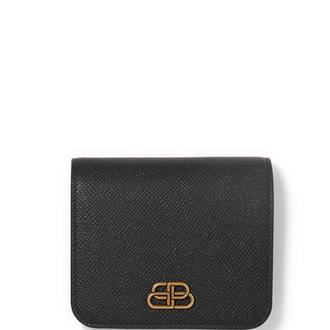 BB Flap Coin Card, Black/Gold