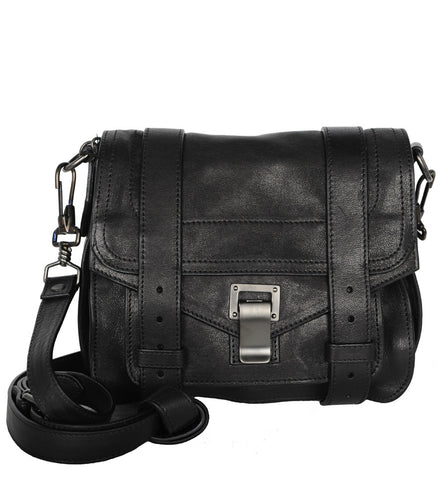 PS1 Pouch Crossbody Lux, Black