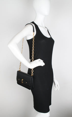 Legend Chain Satchel, Black
