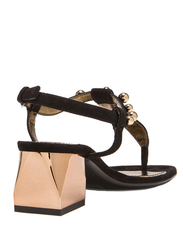 Chunky Sandals Spheres, Black