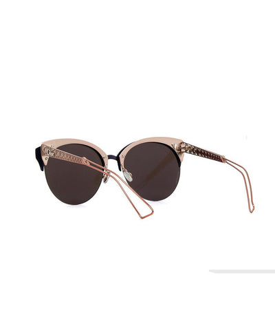 Dior Diorama Club Sunglasses, Blue/Pink