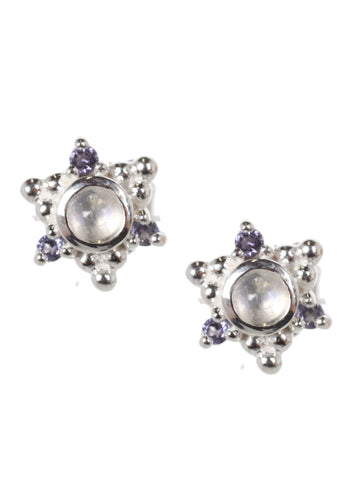Cluster Stud, Silver