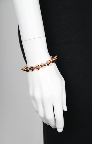Medium Cone Bracelet, Rose Gold