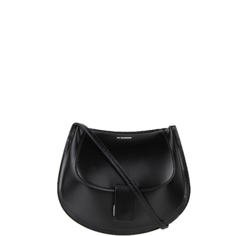 Crescent Mini Calf, Black