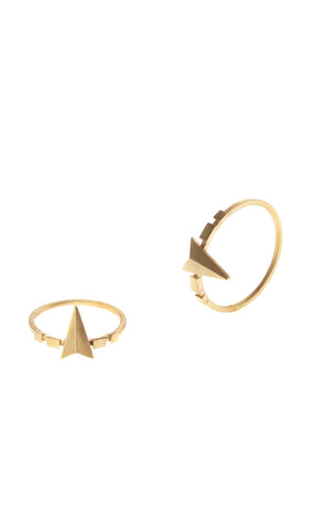 d'Or Ring, Matte Gold