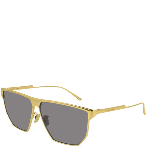 BV 1069S Sunglasses, Gold/Grey