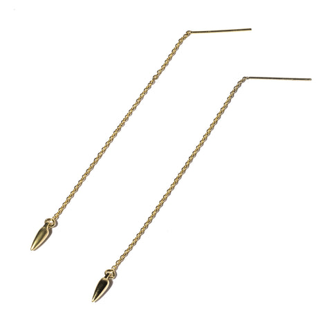 Suspension Ear Threads, Gold