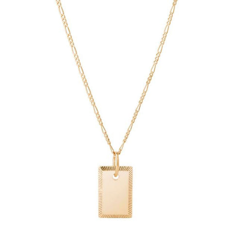 Eliza Necklace, Gold