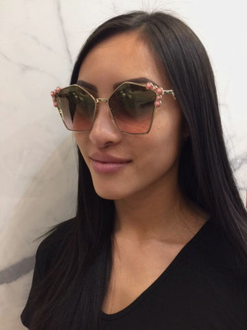 Fendi Can Eye, Rose Gold
