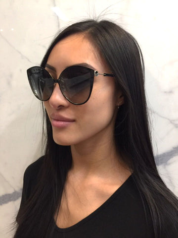 Fendi is Fendi Metal/Acetate, Black