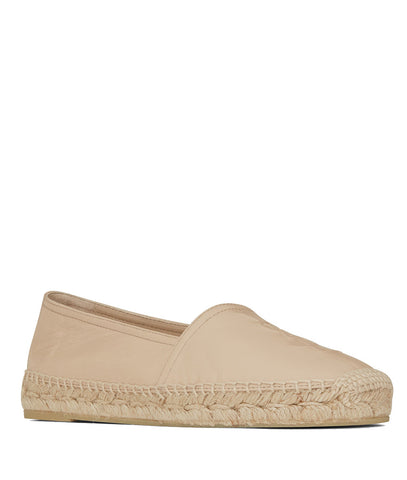 Espadrilles Leather, Powder Pink