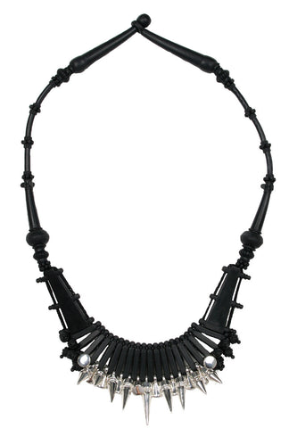 Ethnic Necklace, Black