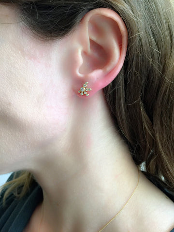 Flacon De Neige Earring