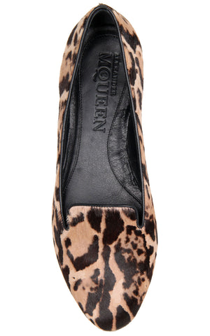 Leopard Pony Slipper