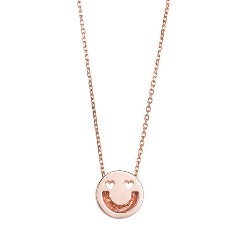 Smitten Rose Gold Pendant