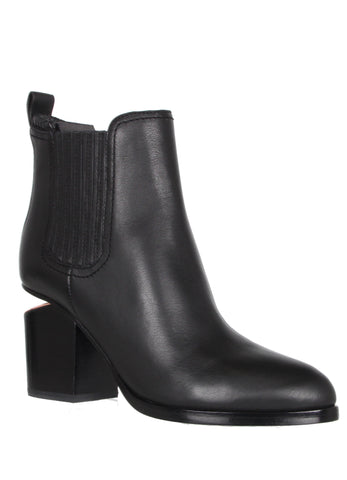 Gabriella Boot, Black w/ Rose Gold