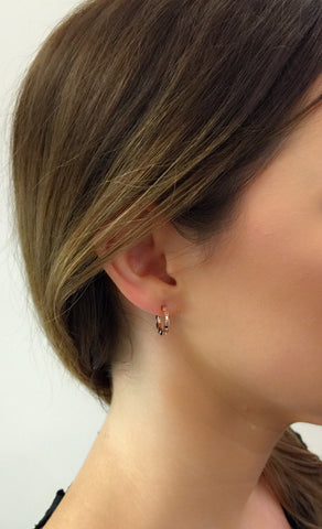 Garbo Earring 18K Rose Gold