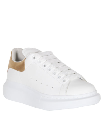 ES Platform Sneakers Metal Tab, Gold