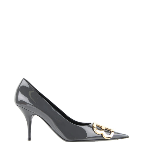 BB Pump 80 Patent, Grey/Gold