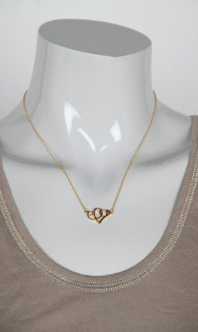 Heart Scroll Necklace