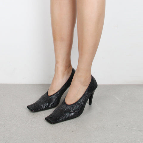 Scrunch Pump 85, Black