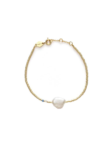 Baroque Pearl Bracelet, Cloud