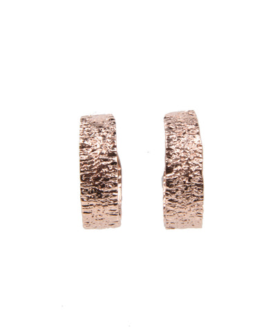 Anchovy Hoop Earrings, Rose Gold
