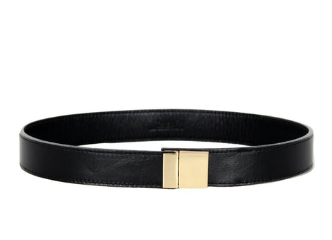 Benah Kodi Belt in Black Leather