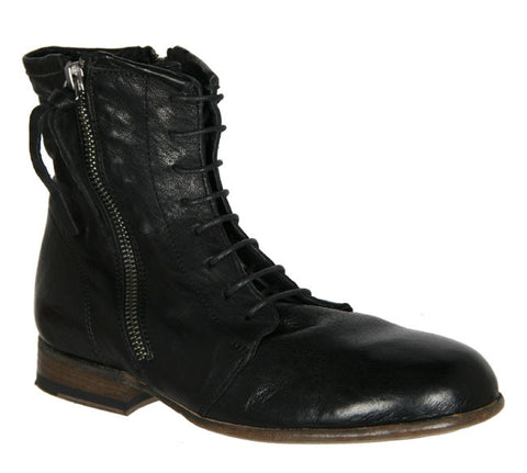 Lace Up Boots, Black