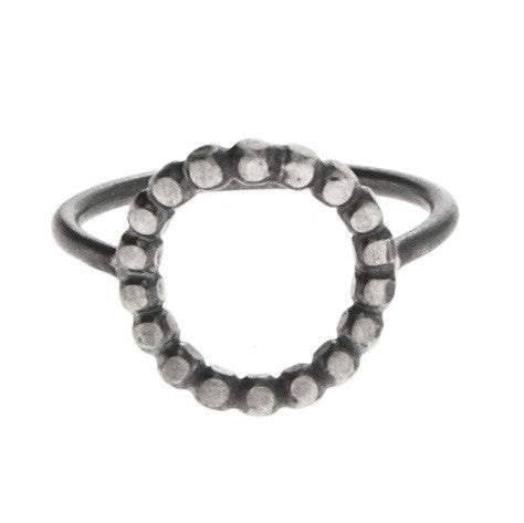 Lennox Ring, Oxidized Silver