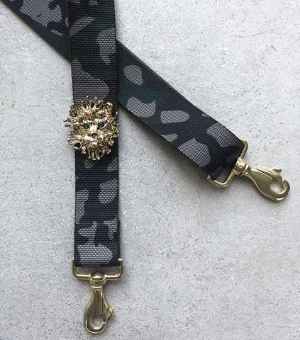 Strap 40 Lion Gold/Green, Camo