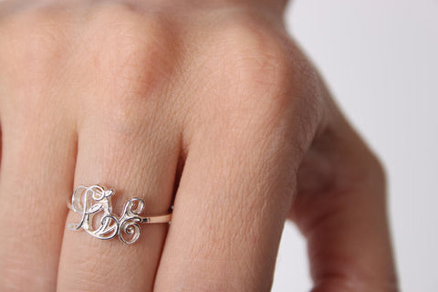 Love Ring Silver