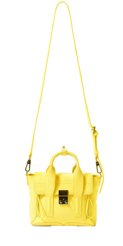 Pashli Mini Satchel, Daffodil Yellow