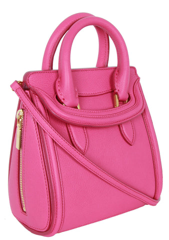 Mini Heroine Bag, Bright Pink