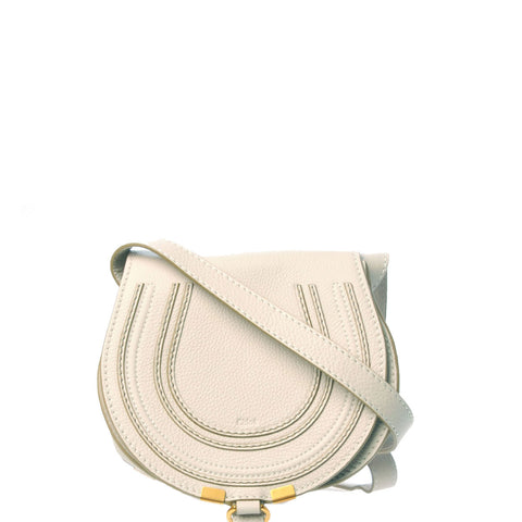 Marcie Mini Satchel,  Natural White