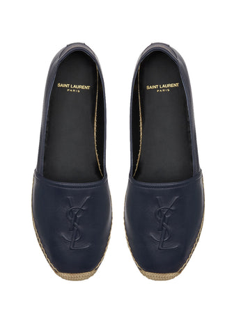 Monogram Espadrille Leather, Navy