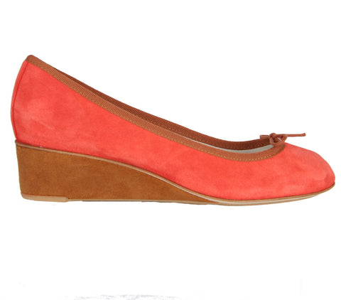 Norma Wedge Ballerina, Orange